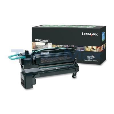 LEXMARK C792 PRINT CARTRIDGE BLACK RP 20K